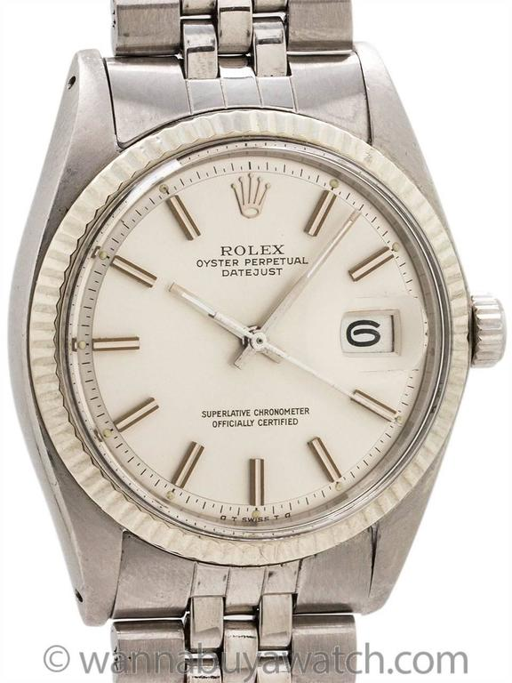Rolex Datejust ref# 1601 Stainless Steel circa 1972 with Papers 3