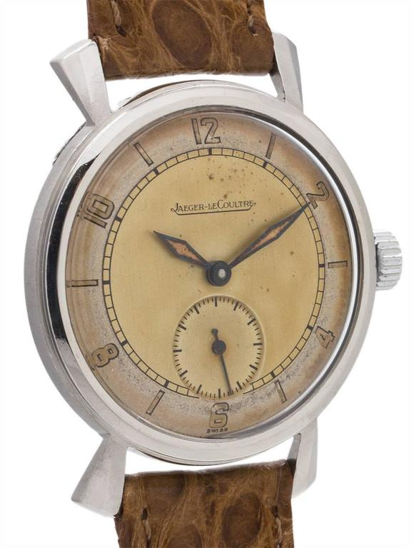Jaeger-LeCoultre Dress Model Manual Wind Wristwatch, circa 1940s 3