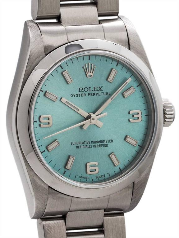 Rolex Ice Blue