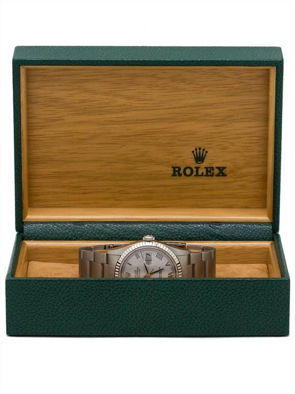 Rolex Stainless Steel Datejust self winding wristwatch Ref 16234, circa 1996 5