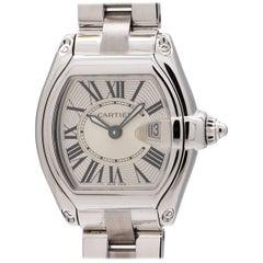 Cartier Ladies Stainless Steel Roadster Quartz Wristwatch, circa 2000s