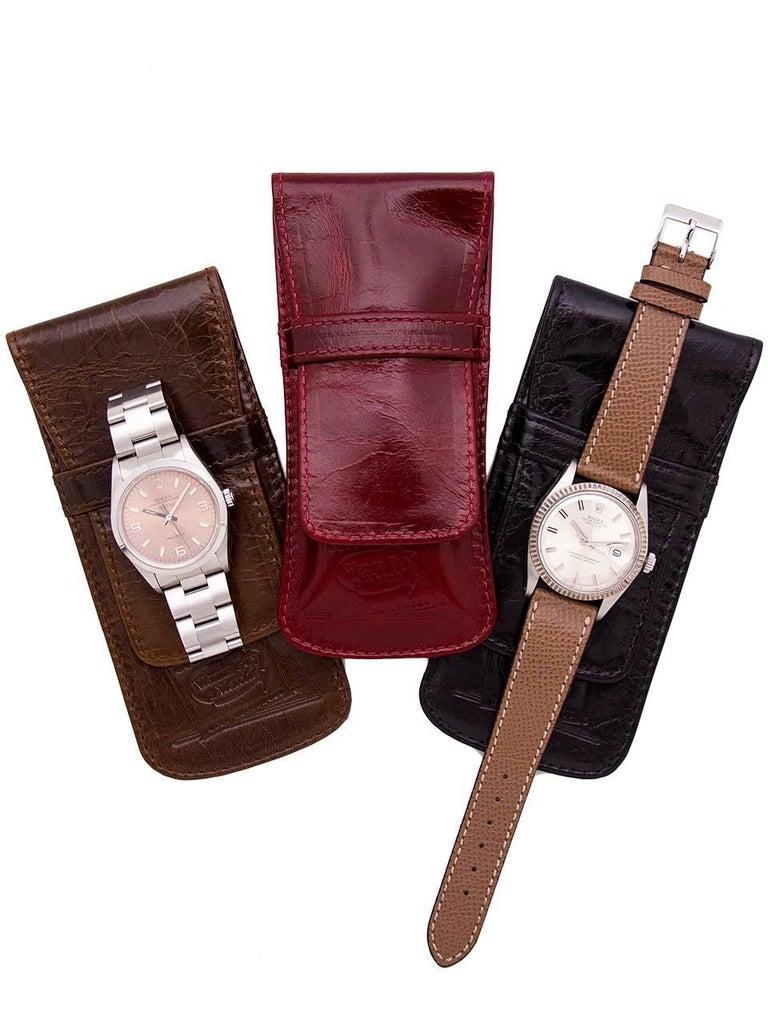 Zodiac Stainless Steel Seawolf Self Winding Wristwatch, circa 1960s For Sale 2