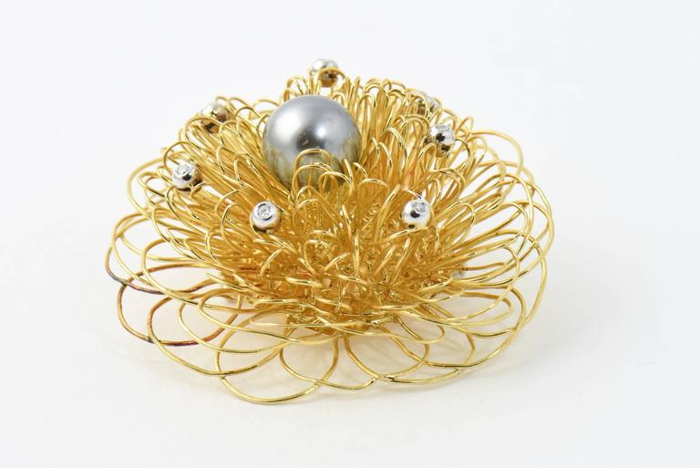 how to make wire pearl flowers