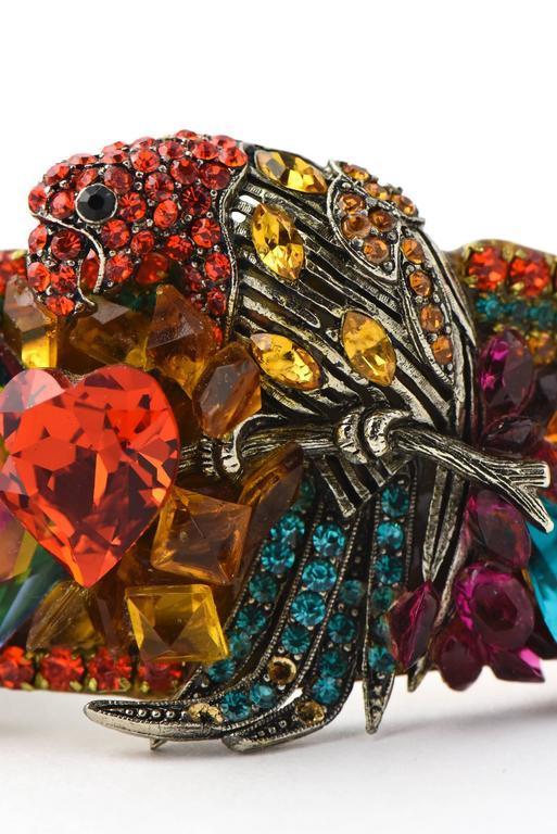 Women's Wendy Gell Parrot Cuff Bracelet