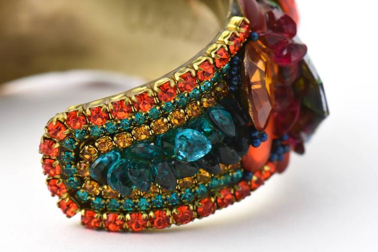 Wendy Gell Parrot Cuff Bracelet 3