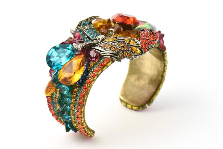 Wendy Gell Parrot Cuff Bracelet 4