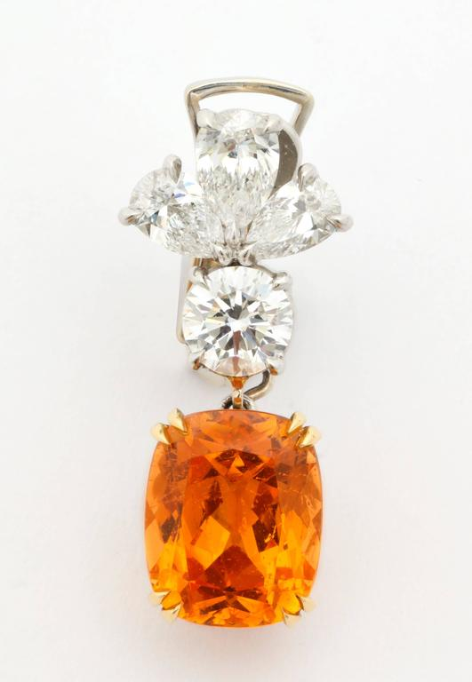 Orange is for the brave, the bold, the confident risk taker.  Orange will never fail to be noticed- and such is the point of a superior gemstone.  Buddhist monks wear orange robes and Asian artists depict the gods clothed in orange.  Studies