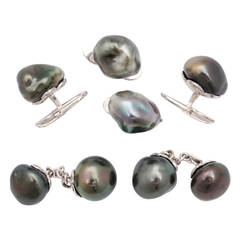 Michael Kanners Tahitian Pearl Dress Set