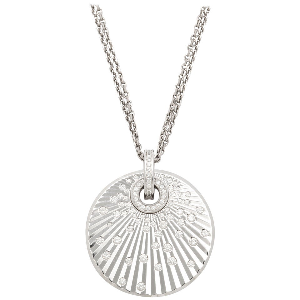 Chopard Diamond Pendant Necklace 1