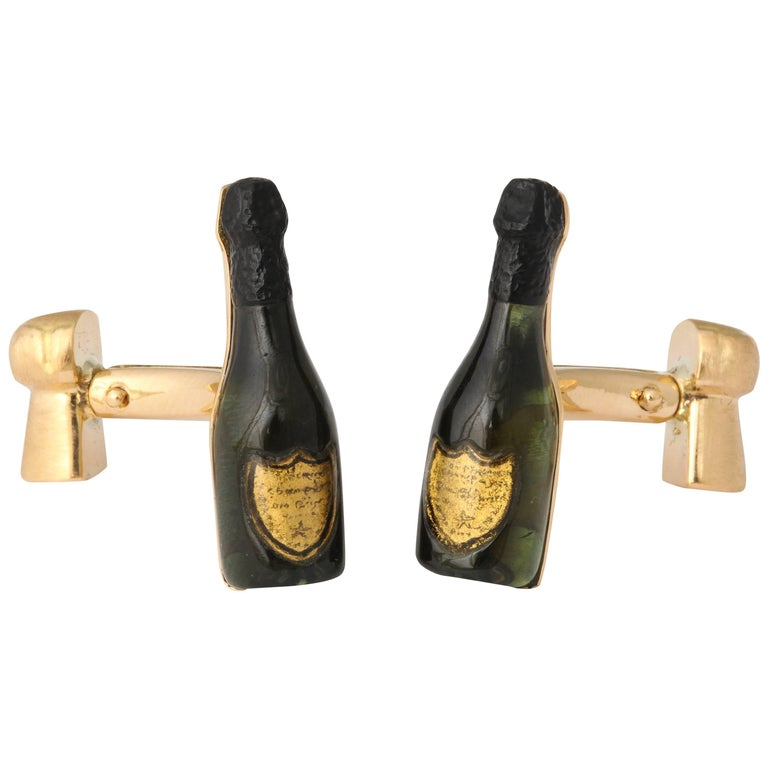 Michael Kanners Champagne Cufflinks For Sale