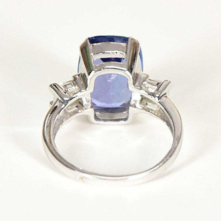 ring strada and i fashion white natural diamond tanzanite gold mens in