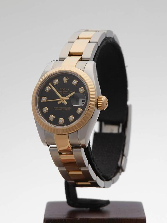 Women's Rolex Datejust Original Diamonds Ladies 179173 Watch For Sale