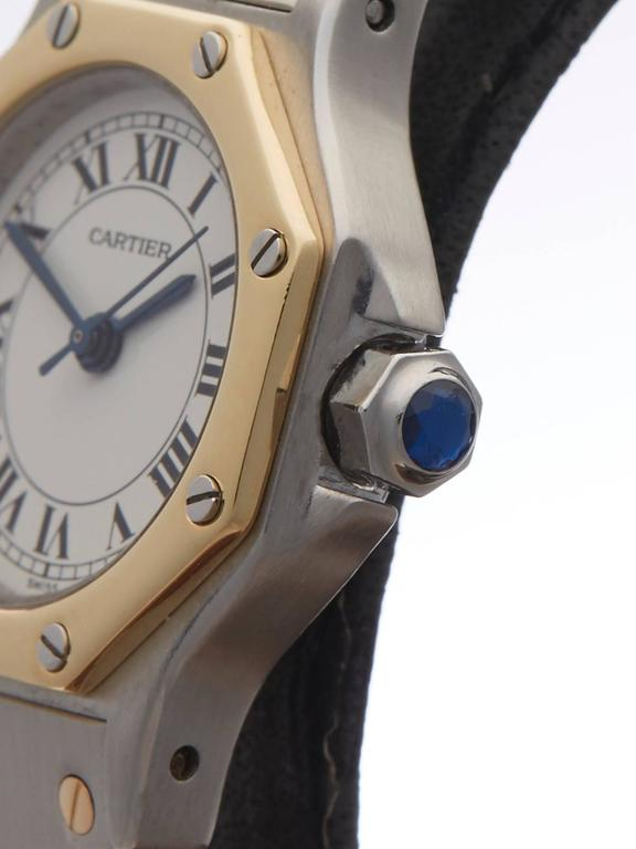 7a1e1118b4a Cartier Santos ladies 187902 watch In New Condition For Sale In Bishop s  Stortford