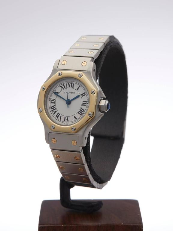 1d76f574664 Cartier Santos ladies 187902 watch For Sale. REF W3129 MODEL NUMBER 187902  SERIAL NUMBER B00       CONDITION 9