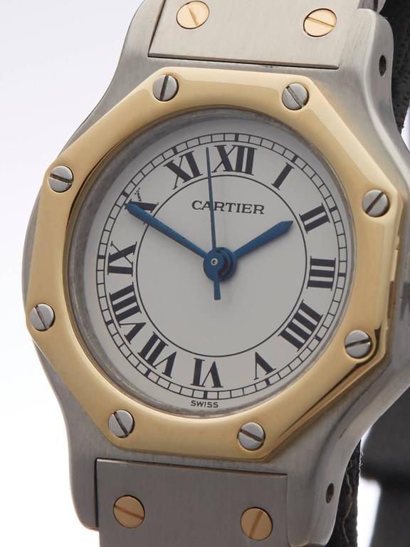 31cf7e1fd3f Women s Cartier Santos ladies 187902 watch For Sale