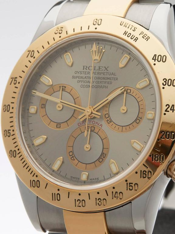 Rolex Daytona Cosomograph Chronograph Gents 116523 watch In As New Condition For Sale In Bishop's Stortford, Hertfordshire