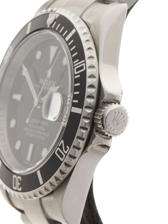 Men's Rolex Submariner Stainless Steel Gents 16610 For Sale