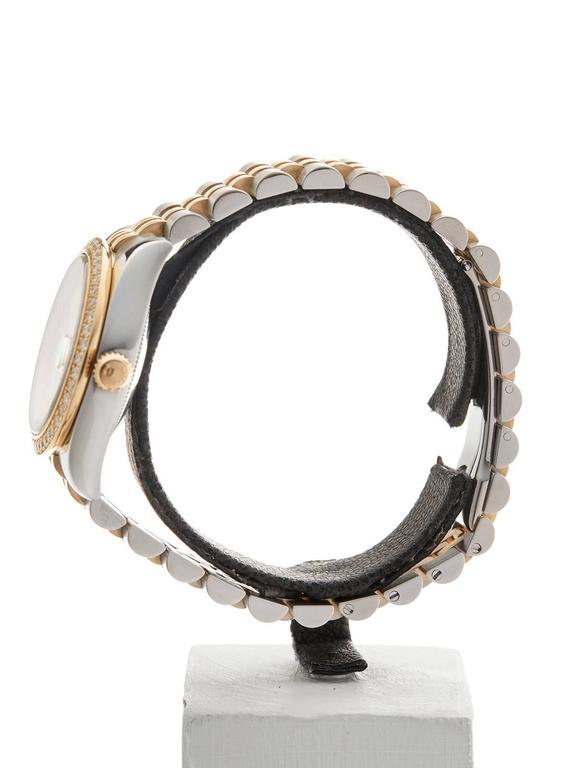 Rolex Datejust Original Diamond Bezel Stainless Steel/18 Karat Gold Ladies 178 5