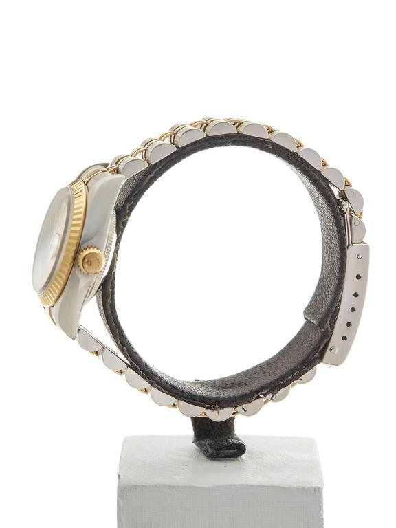 Rolex Datejust Stainless Steel/18K Yellow Gold Ladies 69173 5