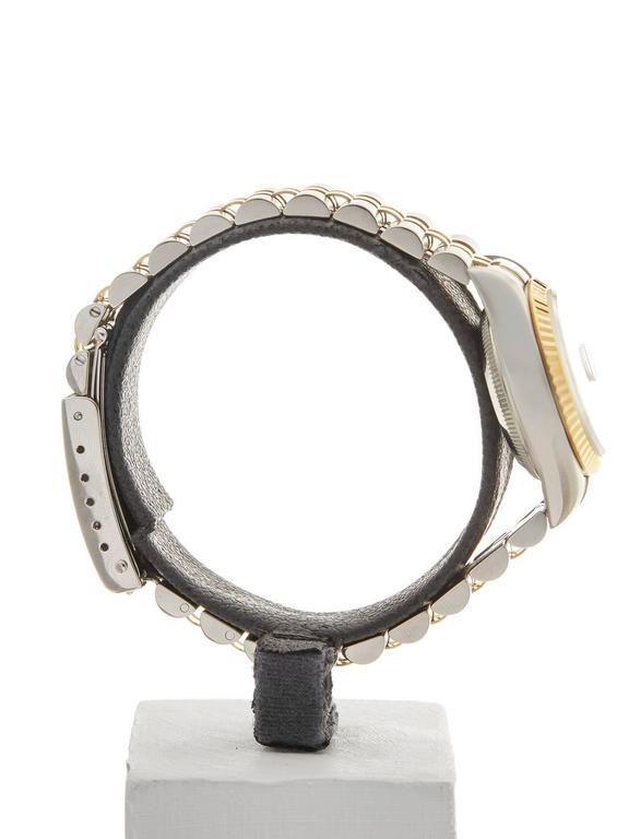 Rolex Datejust Stainless Steel/18K Yellow Gold Ladies 69173 6