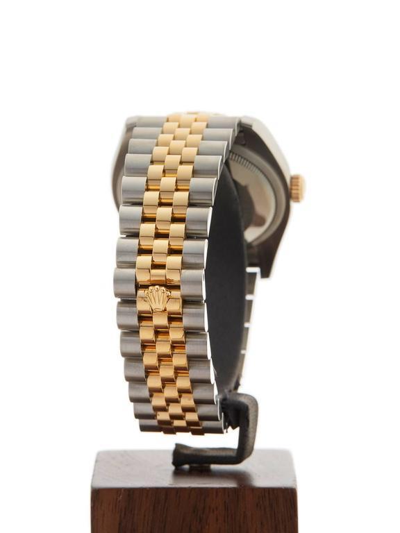 Rolex Datejust Stainless Steel/18 Karat Yellow Gold Unisex 116233 7