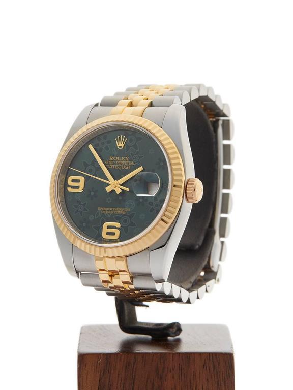 Rolex Datejust Stainless Steel/18 Karat Yellow Gold Unisex 116233 2