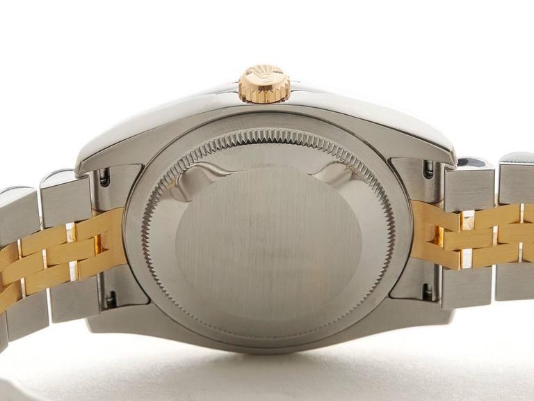 Rolex Datejust Stainless Steel/18 Karat Yellow Gold Unisex 116233 8