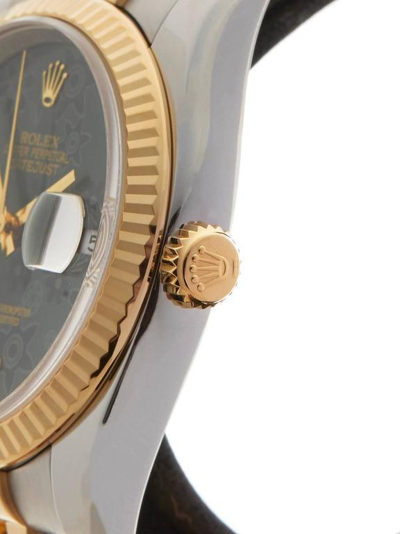 Rolex Datejust Stainless Steel/18 Karat Yellow Gold Unisex 116233 4