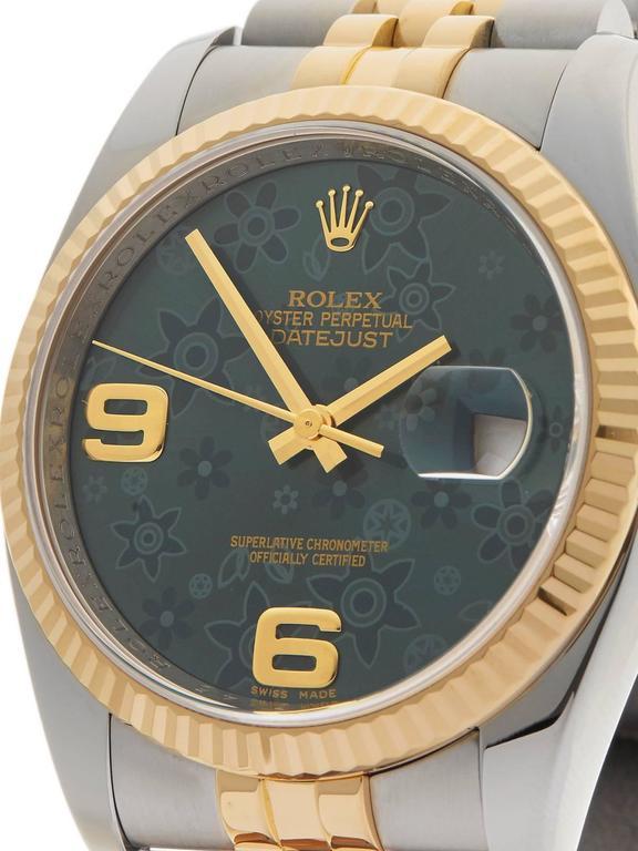 Rolex Datejust Stainless Steel/18 Karat Yellow Gold Unisex 116233 3