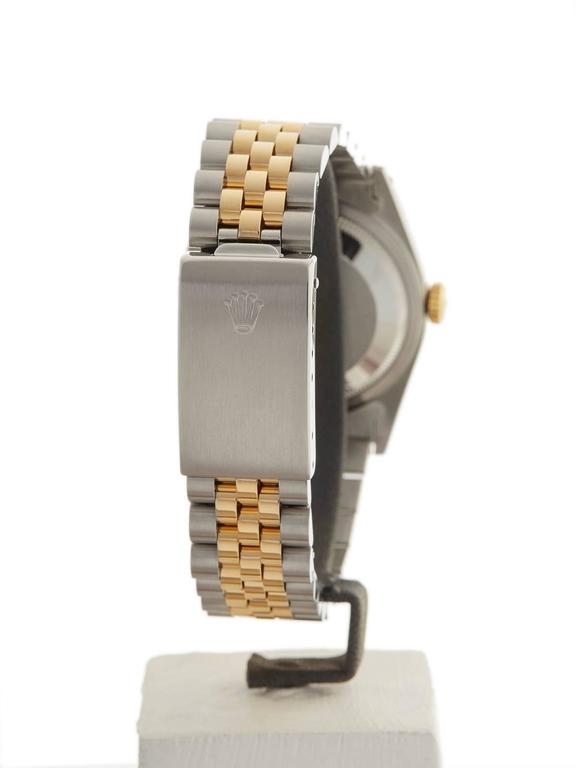 Rolex Datejust Stainless Steel/18 Karat Yellow Gold Unisex 16233 7