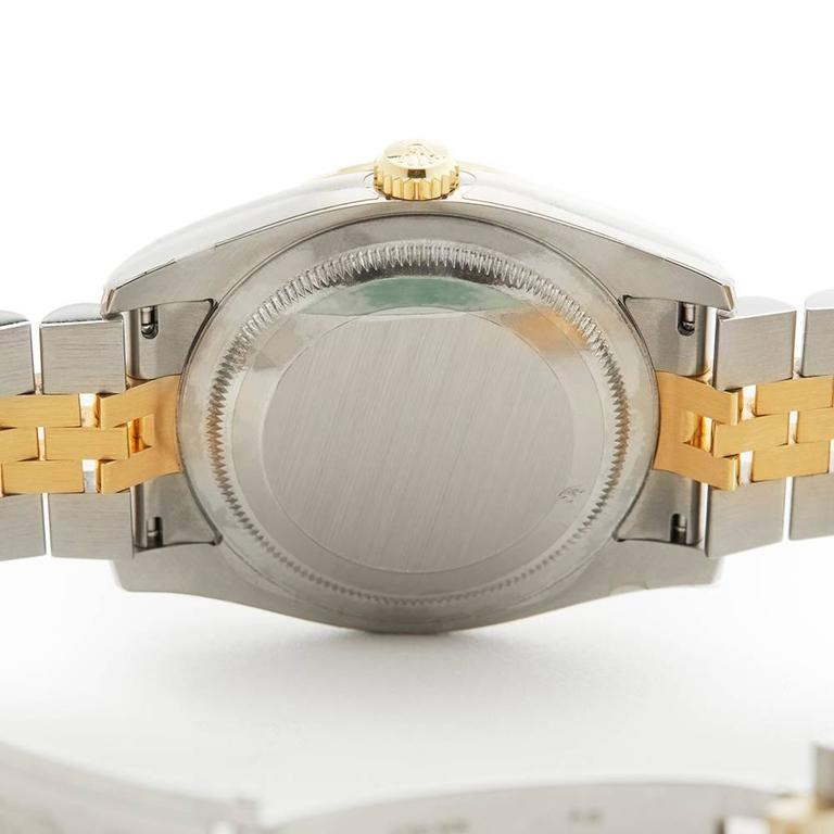 Rolex Datejust Turn-o-Graph Gents 116263 Watch For Sale 4