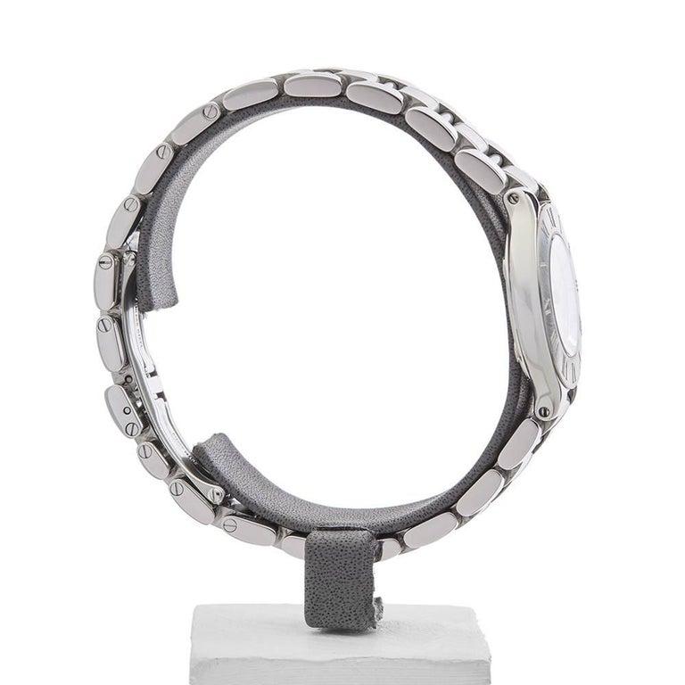 Cartier Ladies Stainless Steel Must De Cartier 21 Quartz Wristwatch, circa 2006 7