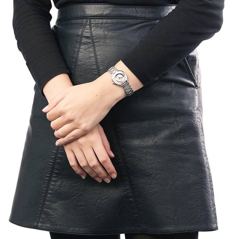Cartier Ladies Stainless Steel Must De Cartier 21 Quartz Wristwatch, circa 2006 9