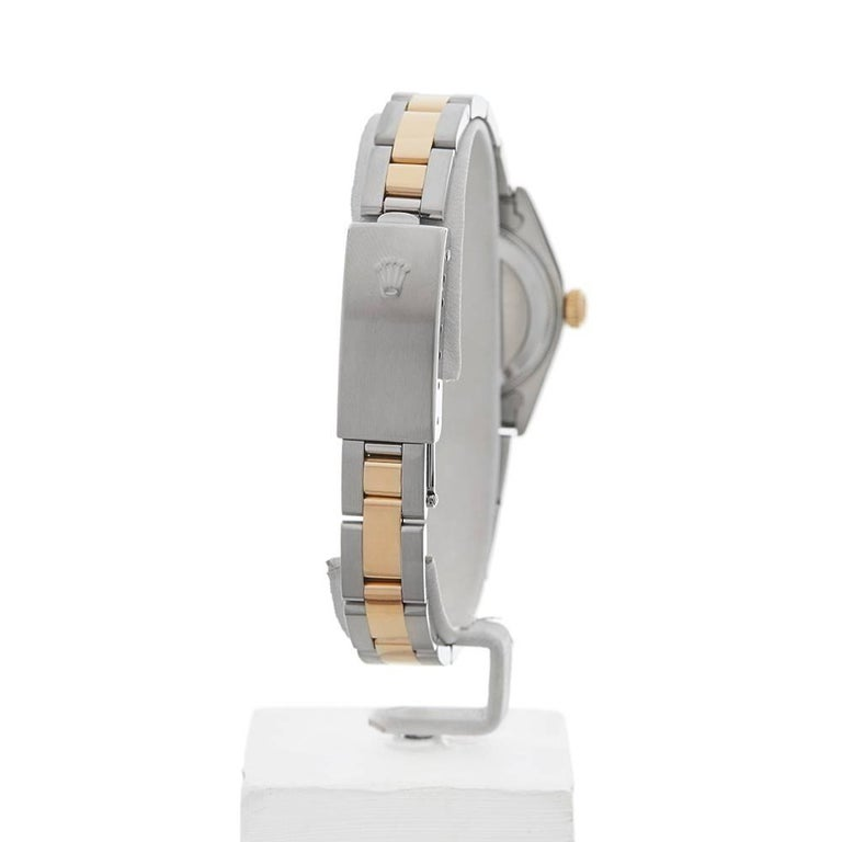 Rolex Ladies Yellow Gold Stainless Steel Datejust Automatic Wristwatch Ref 79173 For Sale 3