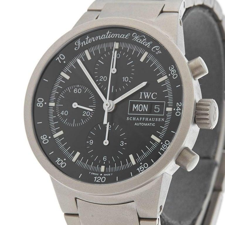 online retailer 2a659 bc02a IWC Titanium Aquatimer Automatic Wristwatch Ref IW370703, 2000s