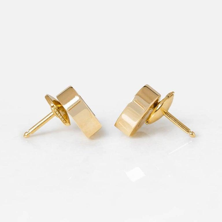 Chopard Happy Diamonds Stud Earrings For Sale 1