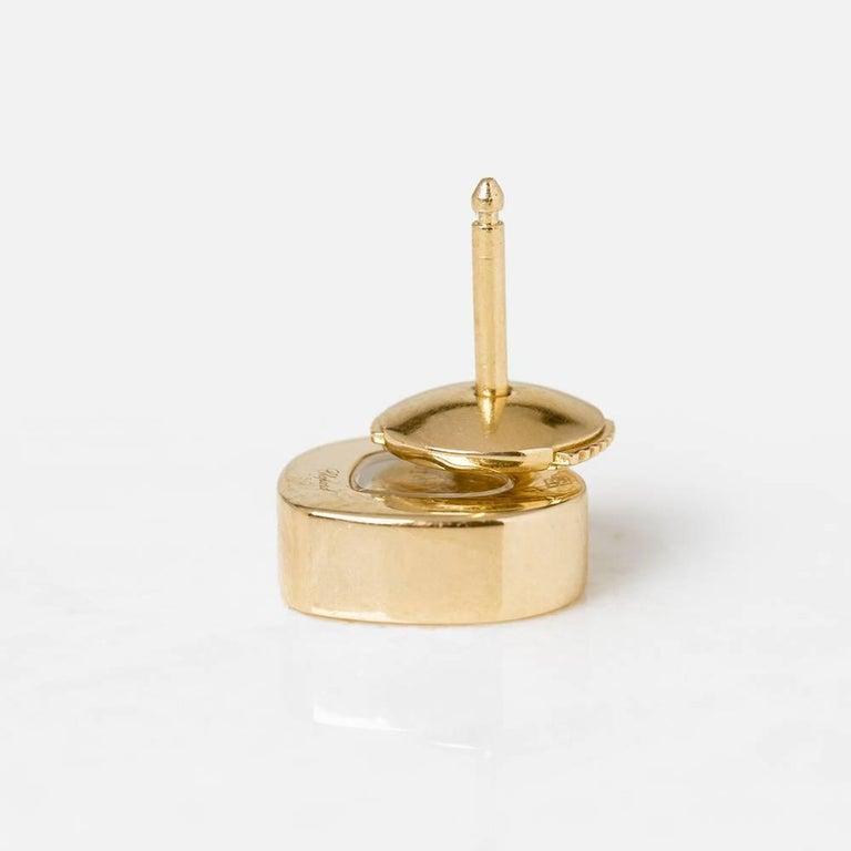 Chopard Happy Diamonds Stud Earrings For Sale 3