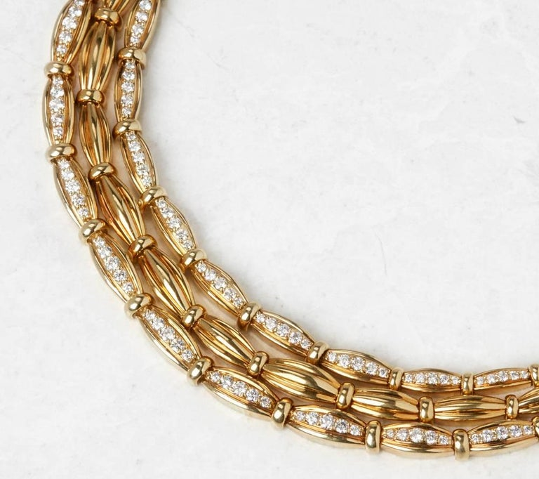 Tiffany & Co. Diamond Gold Necklace 2