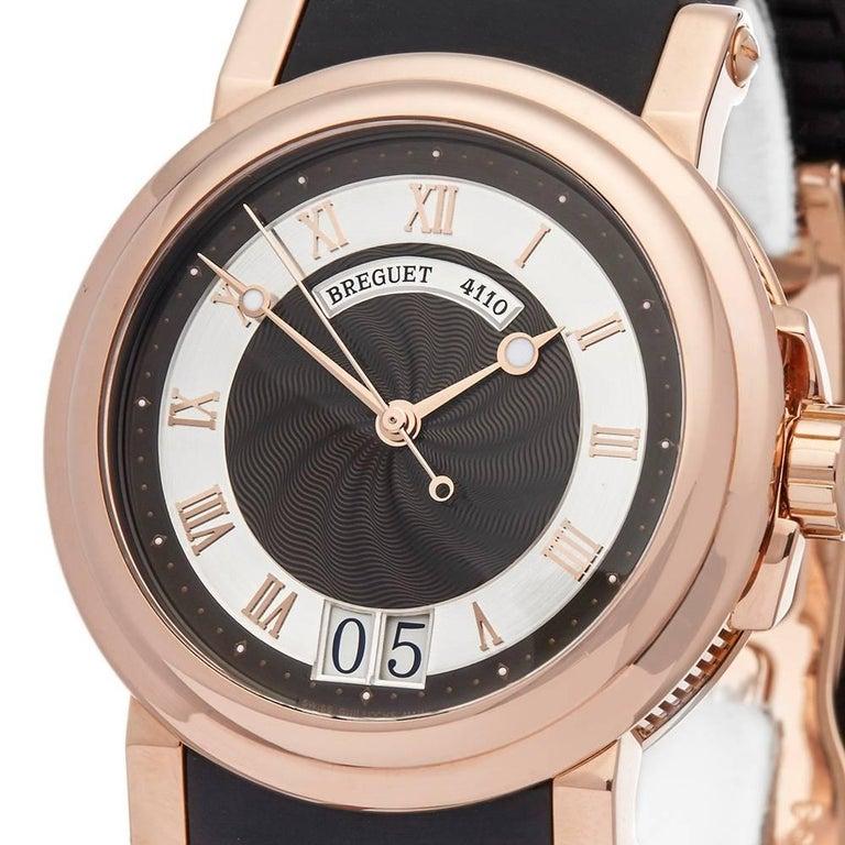 Breguet Rose Gold Marine Automatic Wristwatch Ref 5817BR 3