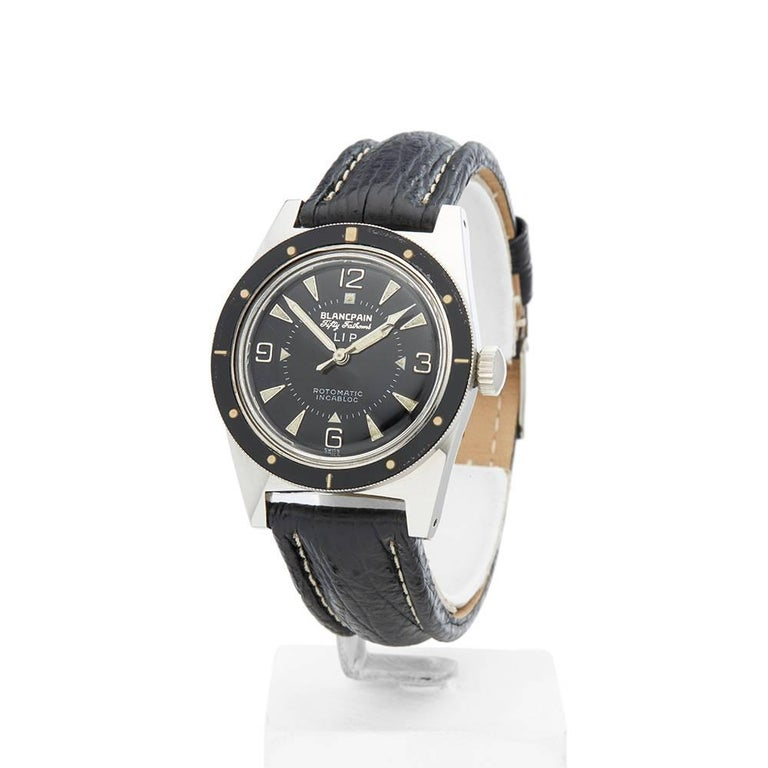 Blancpain Stainless Steel Fifty Fathoms Automatic Wristwatch, 1970 2