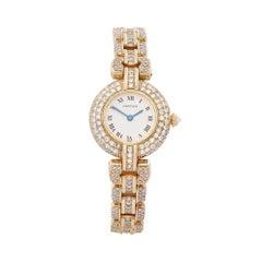 Cartier Panthere Vendome Diamonds 18 Karat Yellow Gold Women's 8057
