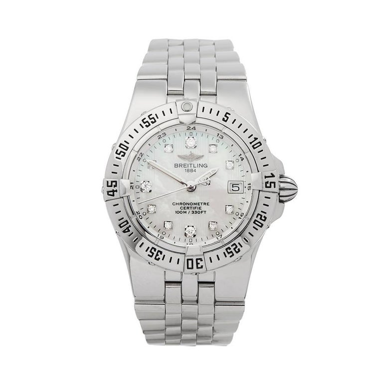 Breitling Starliner Stainless Steel Women's A71340