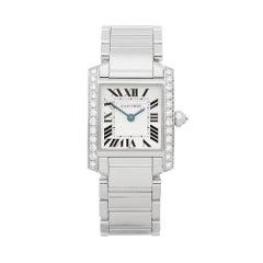 Cartier Tank Francaise Diamond WE1002S3