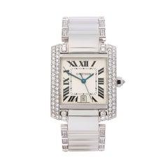 Cartier Tank Francaise Diamond WE1003SC