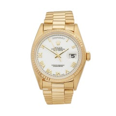 Rolex Day-Date 18 Karat Yellow Gold 18038