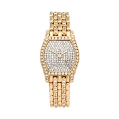 Cartier Tortue 18 Karat Yellow Gold OO64