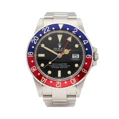 Rolex GMT-Master Stainless Steel 16750