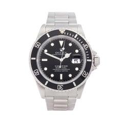 Rolex Submariner Stainless Steel 16610