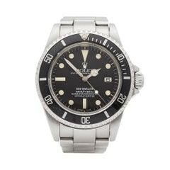 Rolex Sea Dweller Matte Dial Stainless Steel 16660