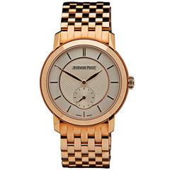 Audemars Piguet Rose Gold Automatic Wristwatch Ref 77250OR
